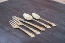 Load image into Gallery viewer, Gold Hued Flatware