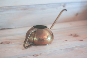 Petite Brass Watering Can