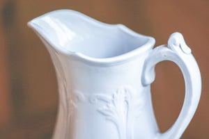 Grey Ironstone Pitcher