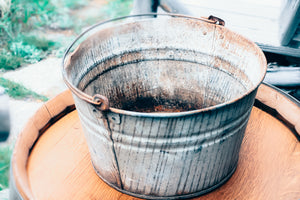 Zinc Pail with Handle
