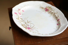 Load image into Gallery viewer, Floral Ironstone Platter