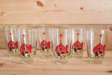 Load image into Gallery viewer, Red Barn Glasses