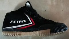 Hi-top black Chinese Feiyue Top One shoes