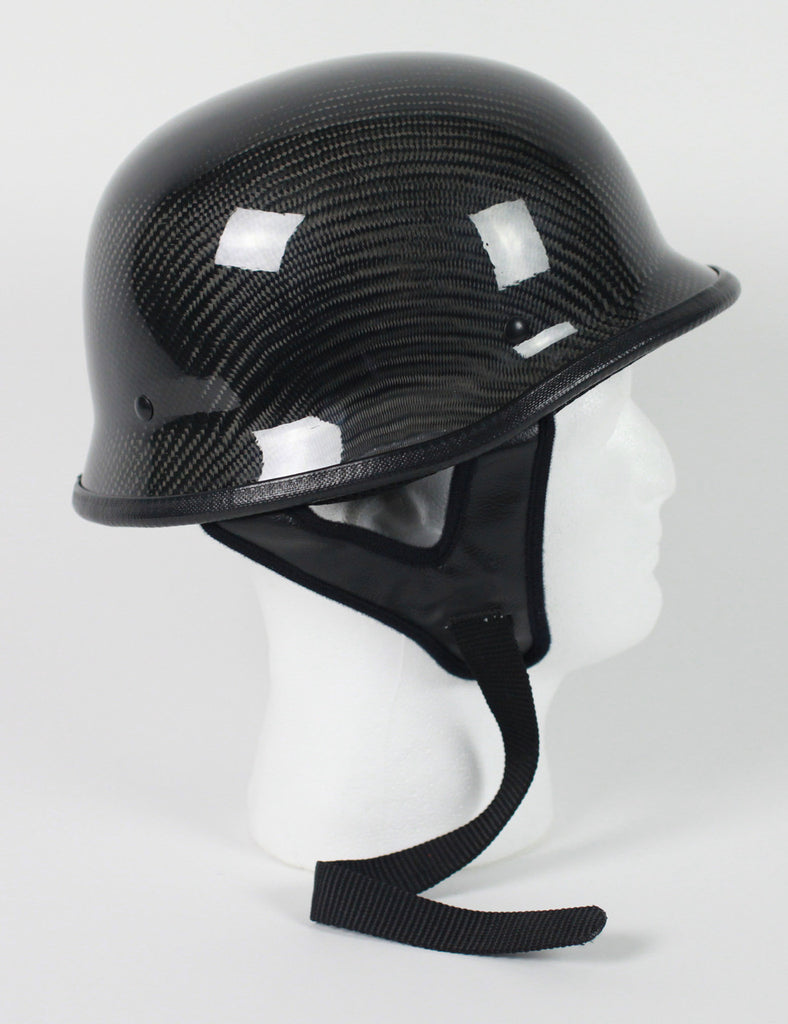 DOT Certified German Carbon Look Motorcycle Helmet