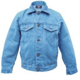 Kid's 14 oz. Blue Denim Jacket