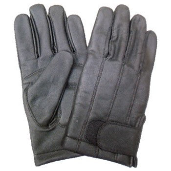 Full Finger Leather Lined Driving Gloves