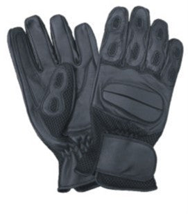 Full Finger Driving Gloves with Gel Palm Large
