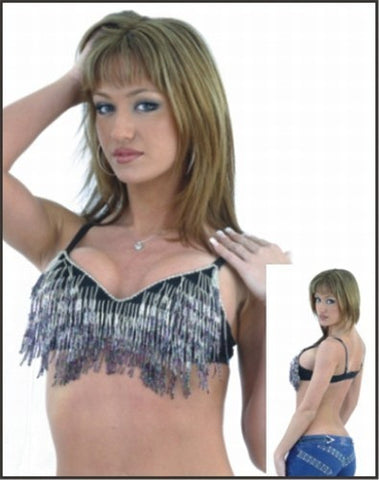 Ladies Halter Top with Beads
