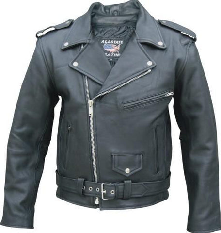 59e67278932 ... Side Laces. Motorcycle Leather Gear. Black Drum Dyed Naked Cowhide Motorcycle  Jacket Zip Out Liner