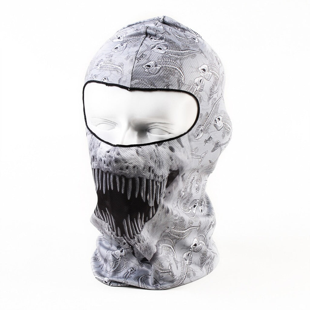 English Teeth Balaclava Motorcycle Face Mask
