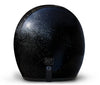 Daytona D.O.T Cruiser Motorcycle Helmet 3/4 Shell Black Metal Flake