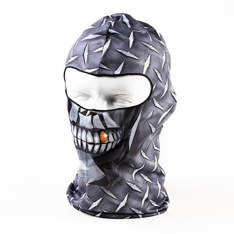 Diamond Face Balaclava Motorcycle Face Mask
