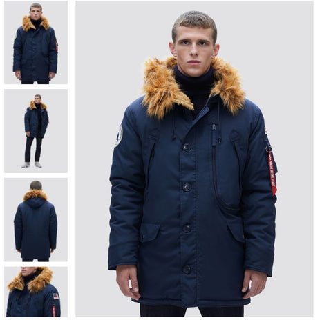 Alpha Industries N-3B Alpine Parka Blue