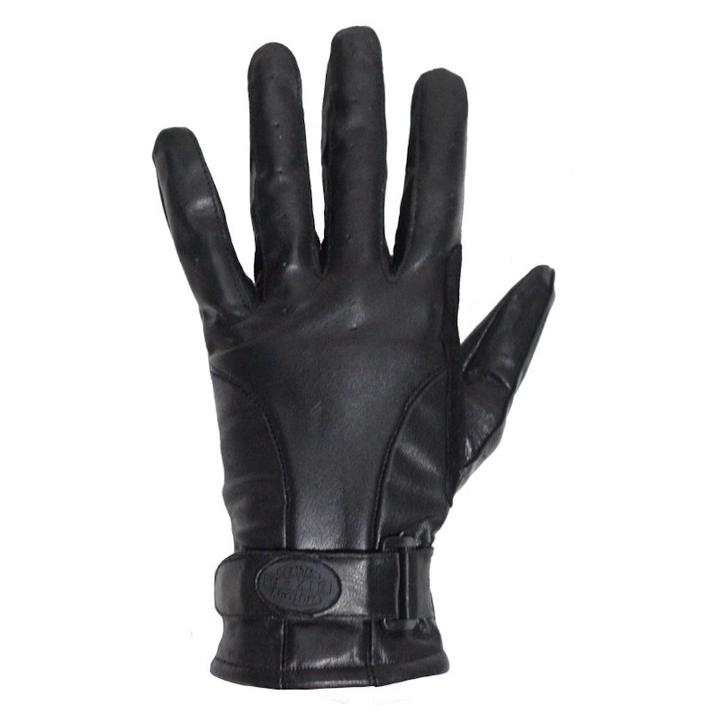 Full Finger Leather Motorcycle Riding Gloves