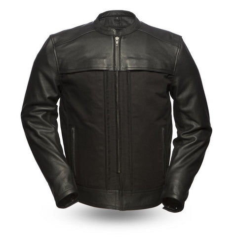 Invader Leather And Textile Motorcycle Jacket 14 pockets Armor And Gun Pockets