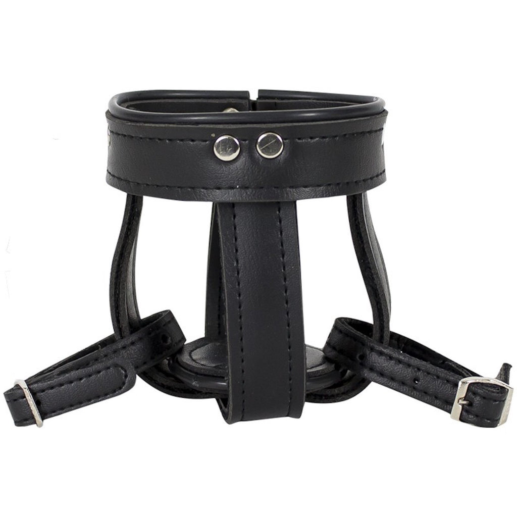 Leather Motorcycle Cup Holder With Straps