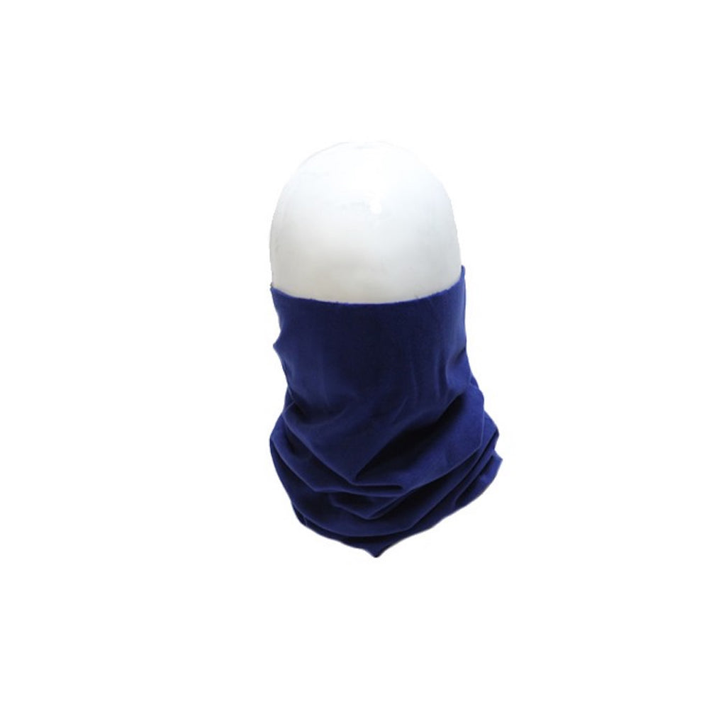 Blue Long Cotton Face Mask Neck And Face Protector
