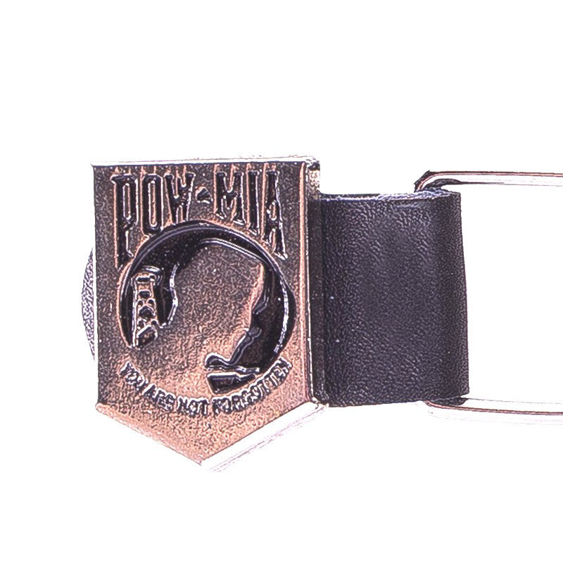 Motorcycle Chain Vest Extender With POW/MIA