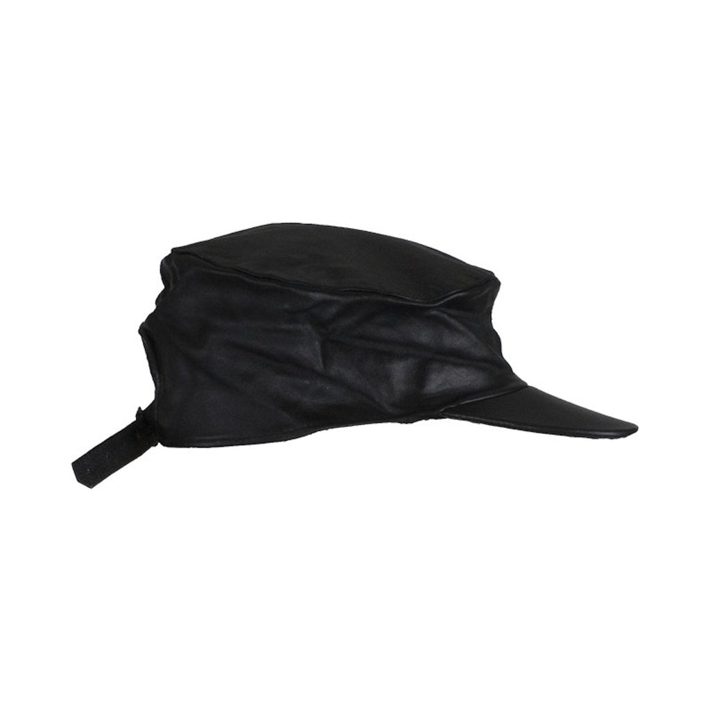 Motorcycle Leather Cap