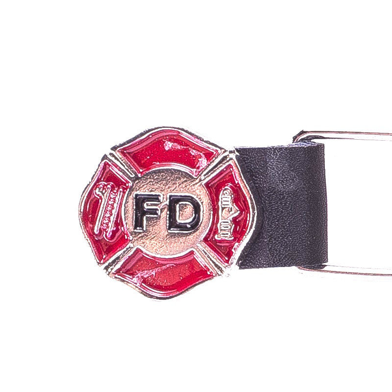 Motorcycle Vest Extender With Fire Department Logo