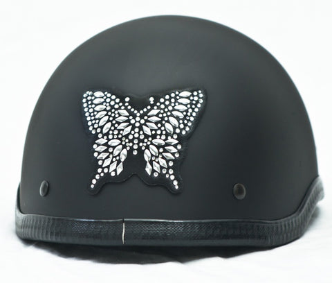 Butterfly Rhinestone Helmet Patch