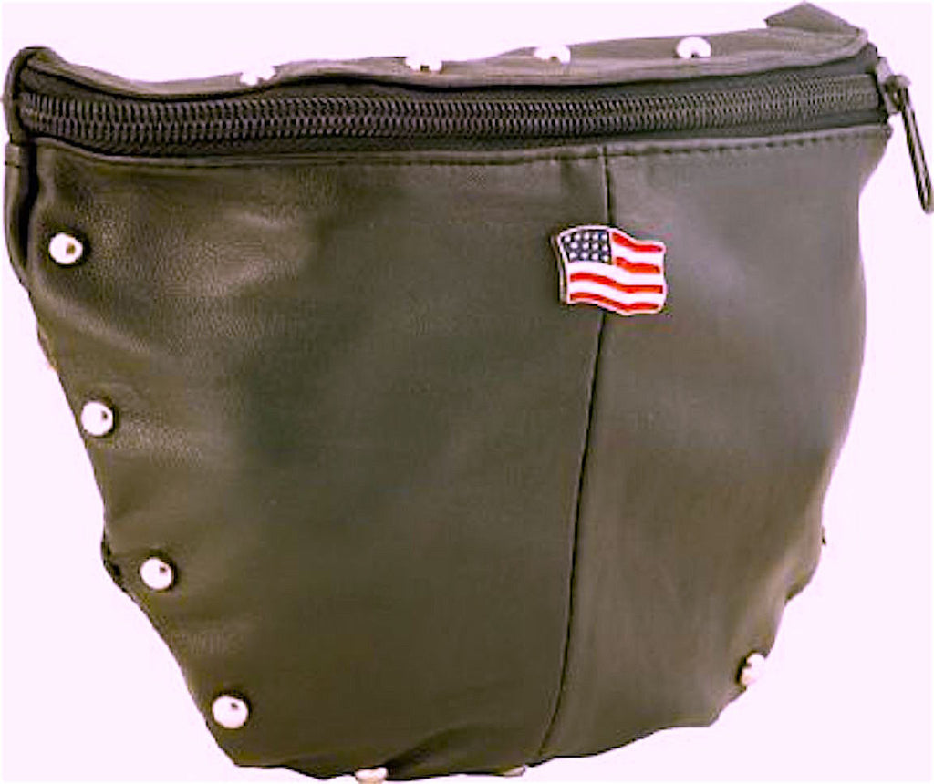 Women's Shoulder Bag with American Flag