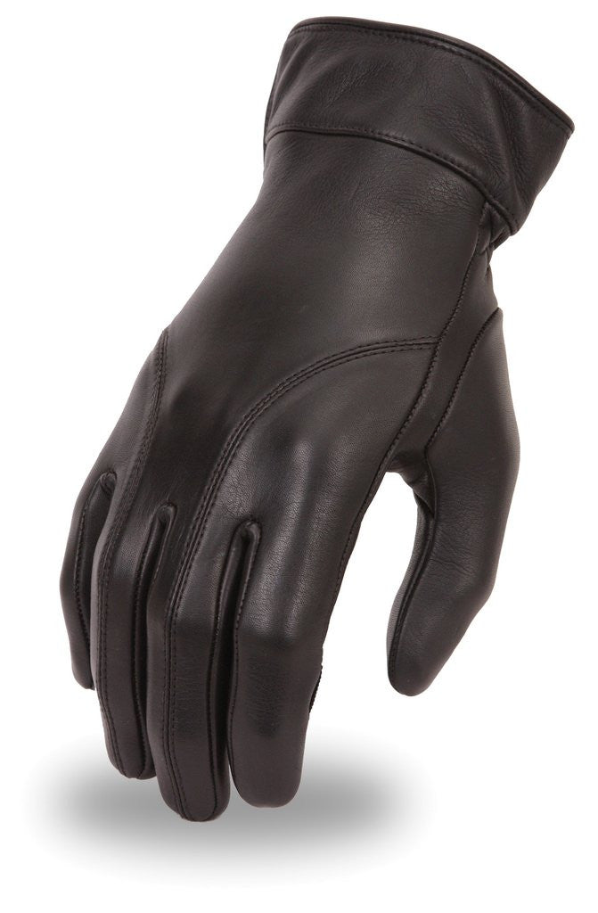 Womens Premium Analine Cowhide Motorcycle Glove with Gel Palm