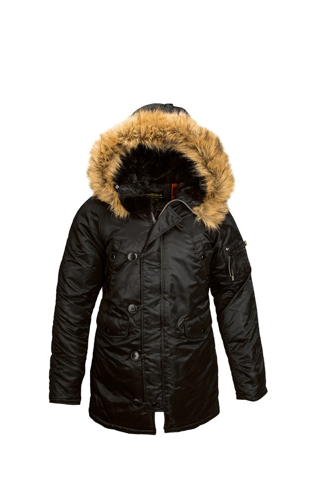Alpha Industries N-3B Parka Black
