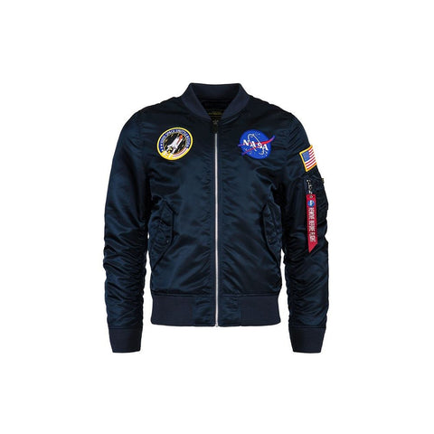 Alpha Industries Nasa L-2B Flight Jacket Red Blue