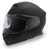 Daytona DOT Detour Motorcycle Helmet Dull Black