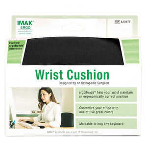 Brownmed Wrist Cushion for Keyboard - IMAK Ergo