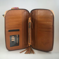 Leather Travel & Phone Pouch | Wanderlust