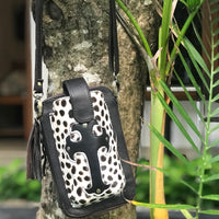 Leather Travel & Phone Pouch | Spot My Cross