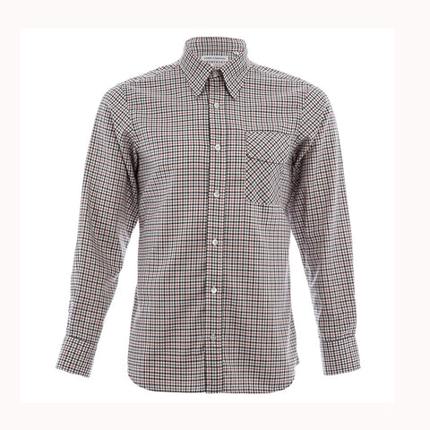Thomas Mason Green Check Shirt
