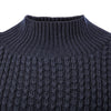 Navy Blue Gansey Knit Jumper