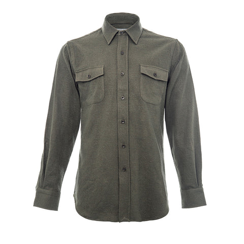 Khaki Flap Pocket Shirt