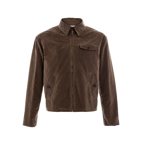 Milled Sandstone Wax Drizzler Jacket