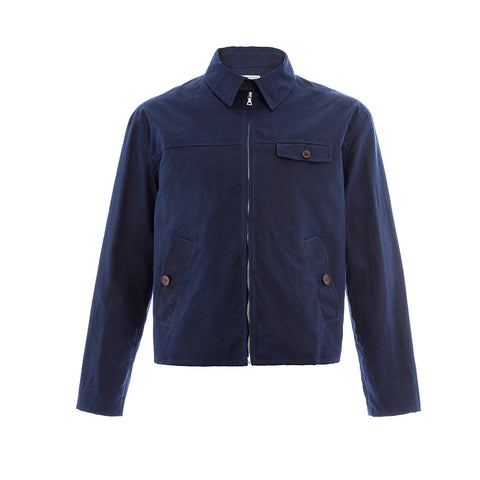 Blue Desert Wax Drizzler Jacket