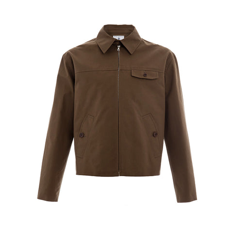 Brown Superdry Drizzler Jacket
