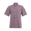 Thomas Mason Check Short Sleeve Shirt
