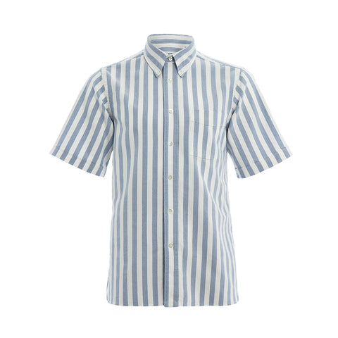 Thomas Mason Stripe Short Sleeve Shirt