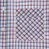 Albini Blue Check Short Sleeve Shirt