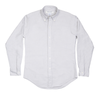 Grey Oxford 50s Button Down Shirt