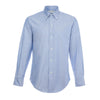Blue Oxford 50s Button Down Shirt