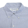 Blue Candy Stripe Oxford 50s Button Down Shirt