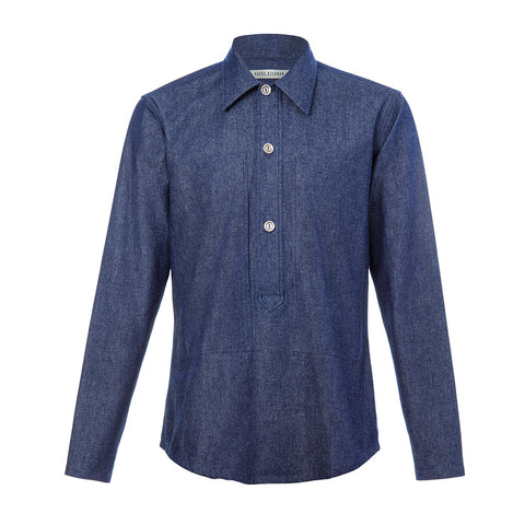 Denim Popover Shirt
