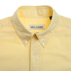 Yellow Japanese Cotton Short Sleeve Shirt