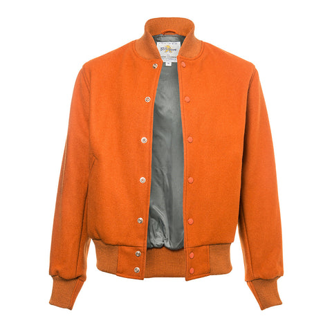 The All Orange Varsity Jacket