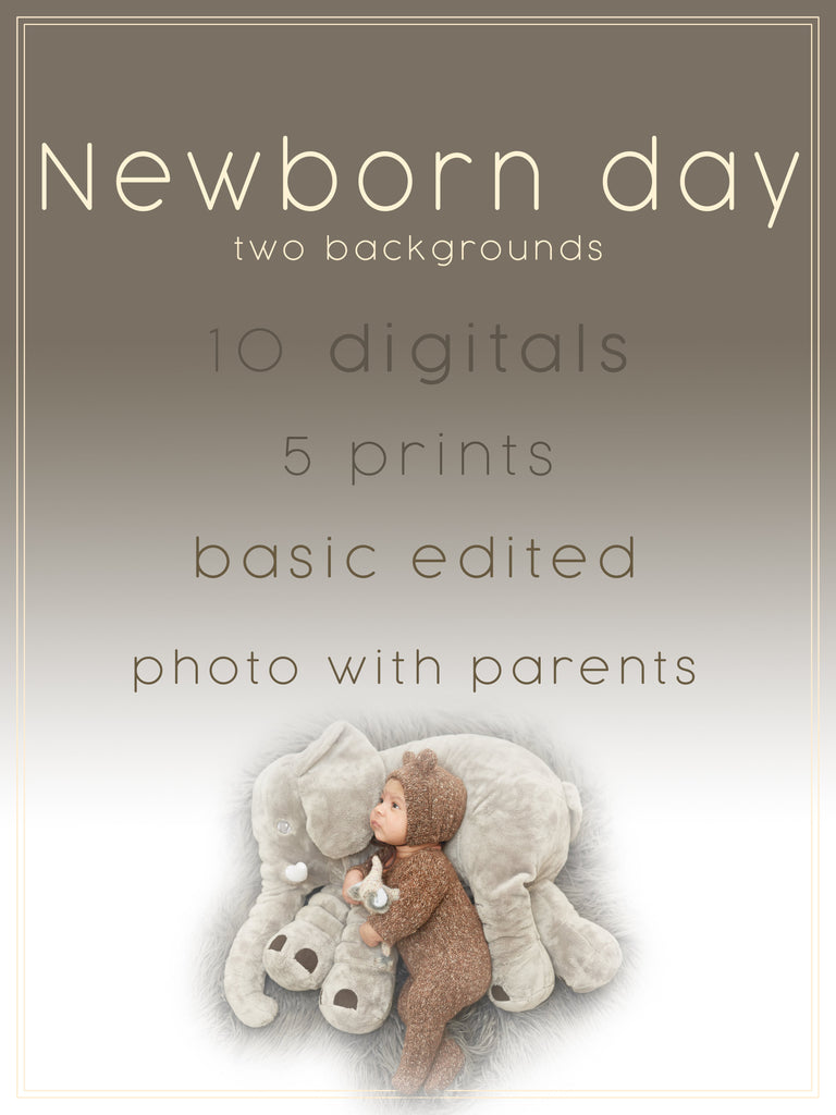 Monday Special for NEWBORN (with parents)