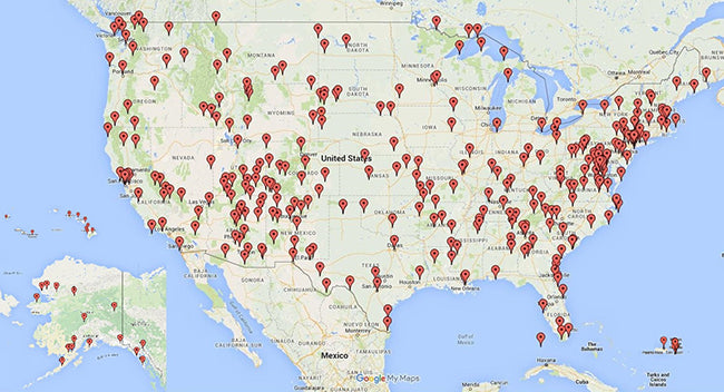 Travel Beyond Convention TBC Mikah World Record Setting USA - Us national parks road trip map